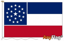MISSISSIPPI  ANYFLAG RANGE - VARIOUS SIZES